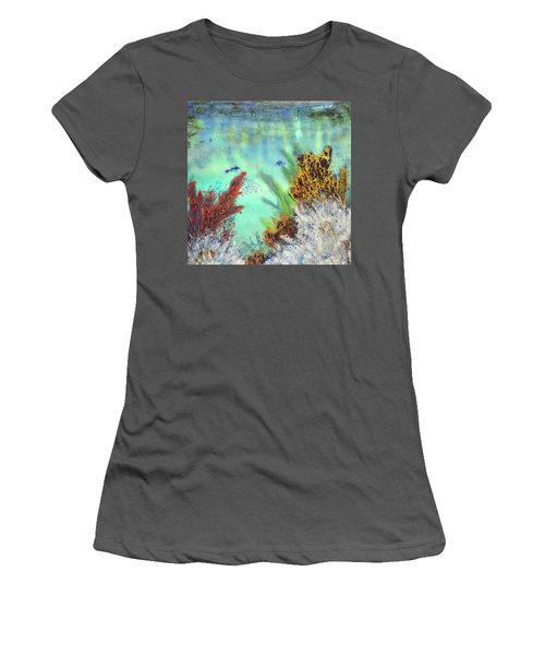 Underwater #2 Women's T-Shirt (Athletic Fit)