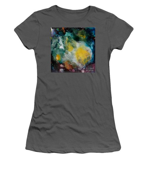 Underwater Cave Women's T-Shirt (Athletic Fit)