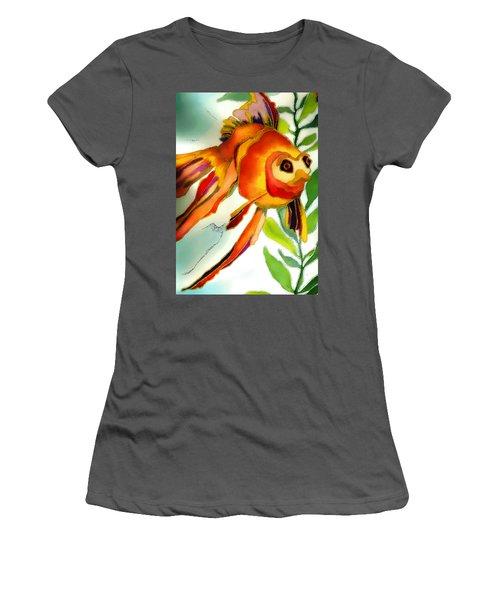 Underwater Fish Women's T-Shirt (Junior Cut) by Lyn Chambers