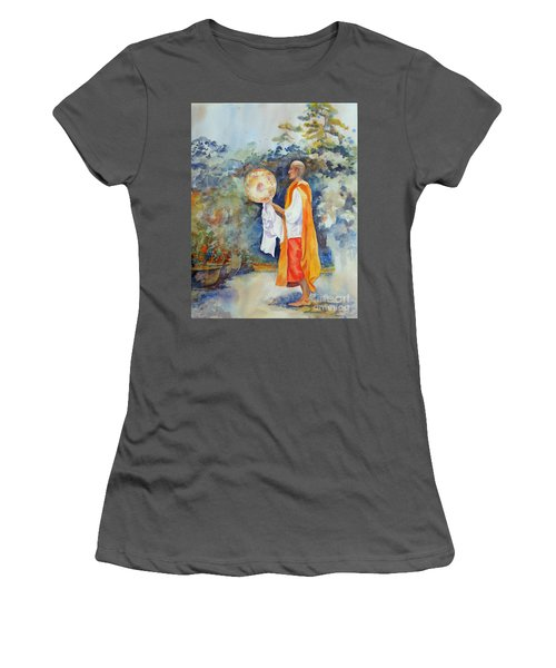Women's T-Shirt (Junior Cut) featuring the painting Unity by Mary Haley-Rocks