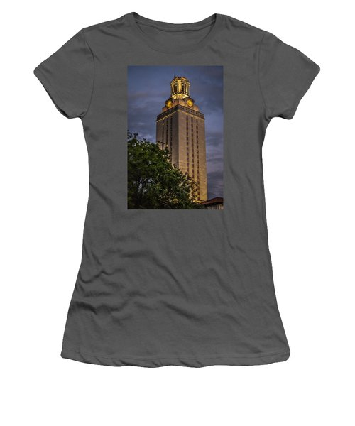 University Of Texas Tower Women's T-Shirt (Athletic Fit)
