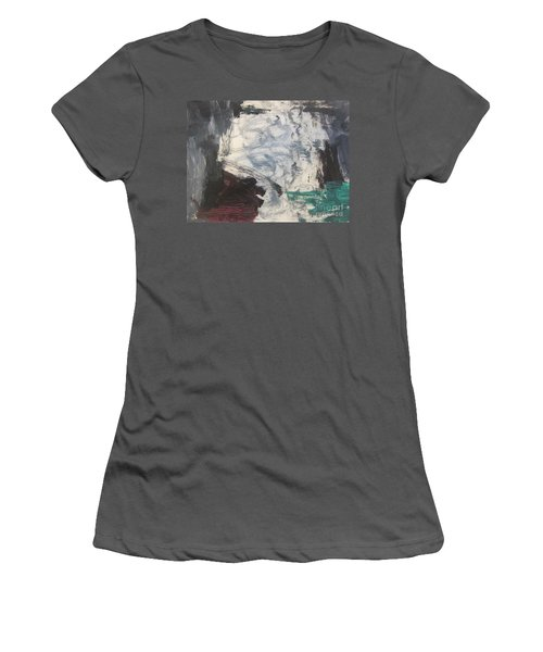 Untitled 127 Original Painting Women's T-Shirt (Athletic Fit)