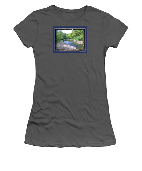 Up A Creek Women's T-Shirt (Athletic Fit)