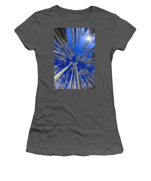 Up Women's T-Shirt (Athletic Fit)