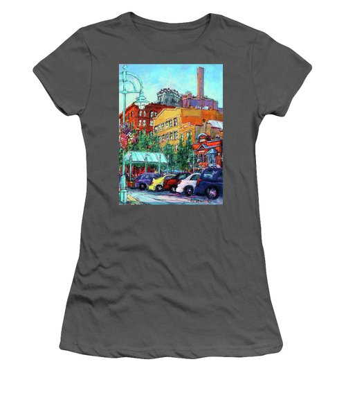 Up On Broadway Women's T-Shirt (Athletic Fit)