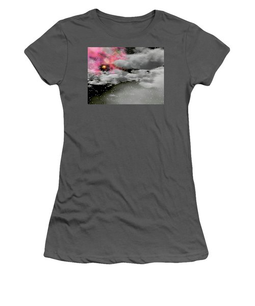 Up Through The Clouds Women's T-Shirt (Junior Cut) by Michele Wilson