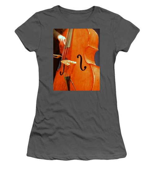 Upright Bass 3 Women's T-Shirt (Athletic Fit)
