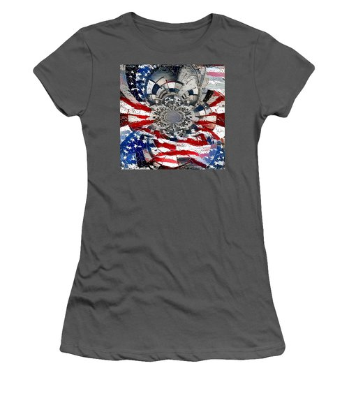 Usa Patriot Women's T-Shirt (Athletic Fit)
