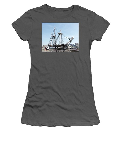 Uss Constitution Dry Dock Women's T-Shirt (Athletic Fit)