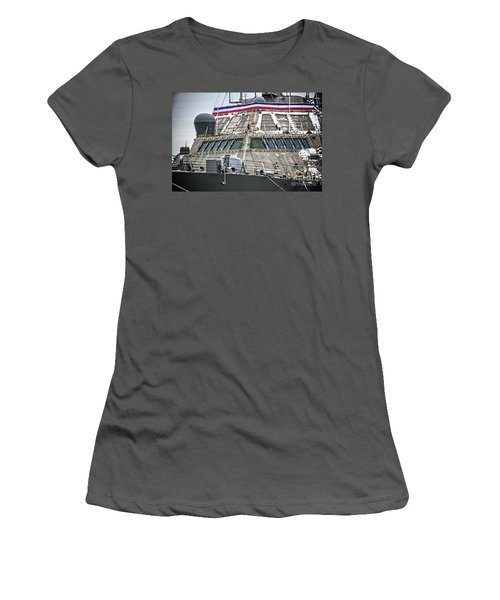 Uss Little Rock Lcs 9 Women's T-Shirt (Athletic Fit)