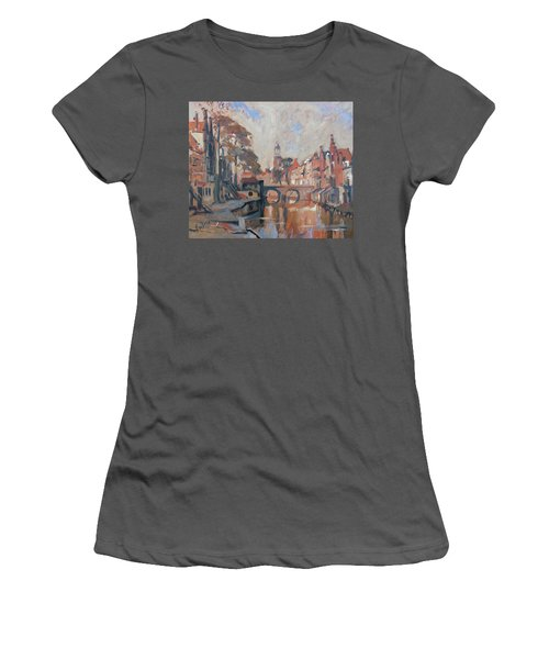 Utrecht Autumn Canal Women's T-Shirt (Athletic Fit)