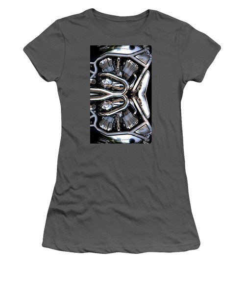 V-rod Reflected Women's T-Shirt (Athletic Fit)