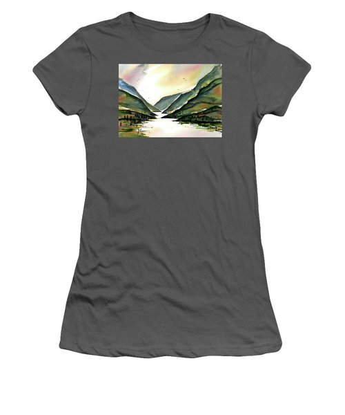 Valley Of Water Women's T-Shirt (Athletic Fit)