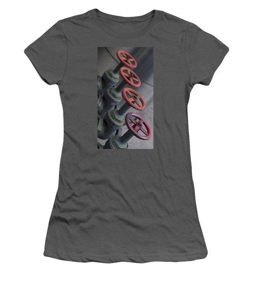 Valves Women's T-Shirt (Junior Cut) by Henri Irizarri