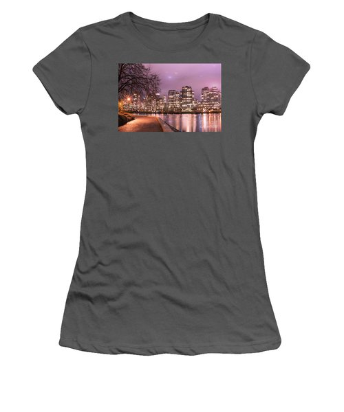 Women's T-Shirt (Junior Cut) featuring the photograph Vancouver, Canada by Juli Scalzi