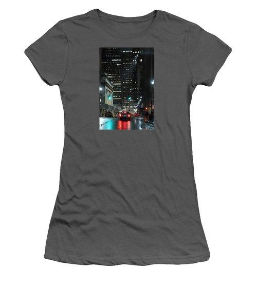 Vanderbilt Street Manhattan New York Women's T-Shirt (Athletic Fit)