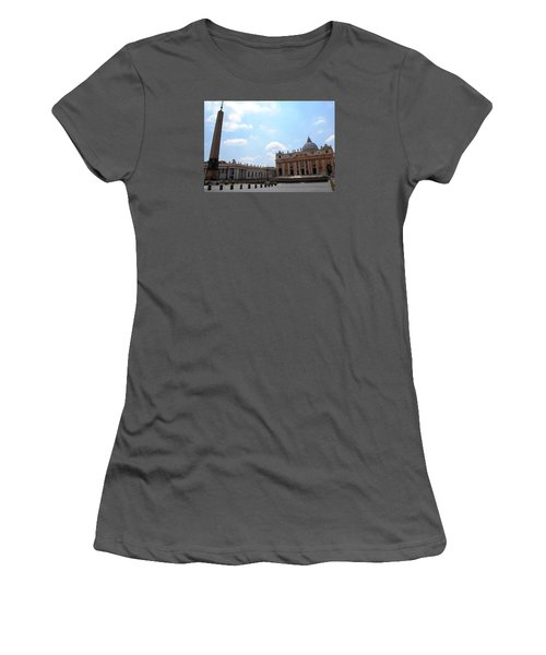 Vatican On Sunny Day Women's T-Shirt (Athletic Fit)