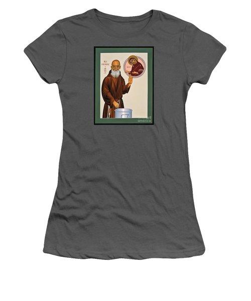 Venerable Fr. Solanus Casey The Healer 038 Women's T-Shirt (Junior Cut) by William Hart McNichols