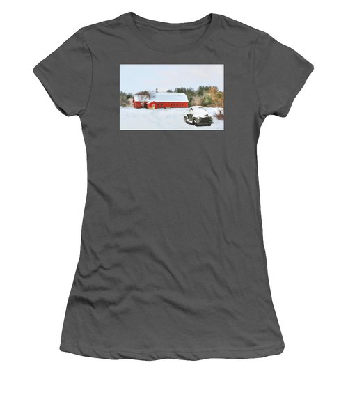 Vermont Memories Women's T-Shirt (Athletic Fit)