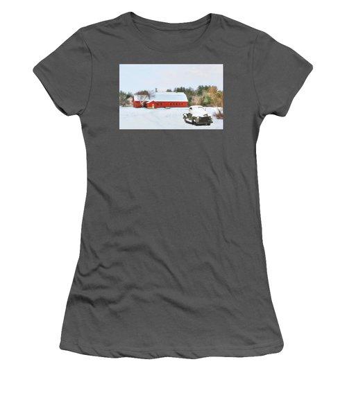 Vermont Memories Women's T-Shirt (Athletic Fit)
