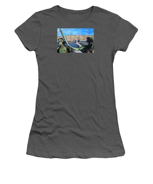 Versailles Palace Women's T-Shirt (Junior Cut) by Francine Heykoop