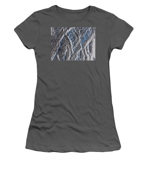 Women's T-Shirt (Junior Cut) featuring the photograph Vertical Climb by Lenore Senior