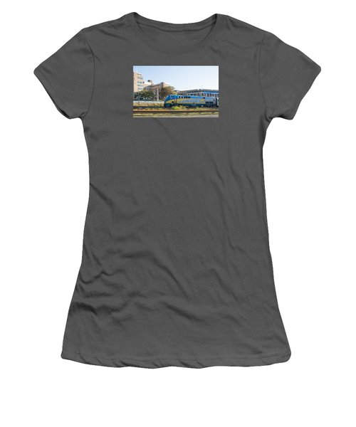 Via Rail Toronto Ontario Women's T-Shirt (Junior Cut) by John Black