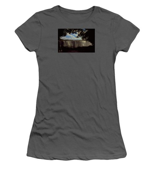 Victoria Falls, Zimbabwe Women's T-Shirt (Athletic Fit)