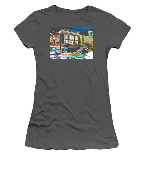 Victoria Theater 125th St Nyc Women's T-Shirt (Athletic Fit)