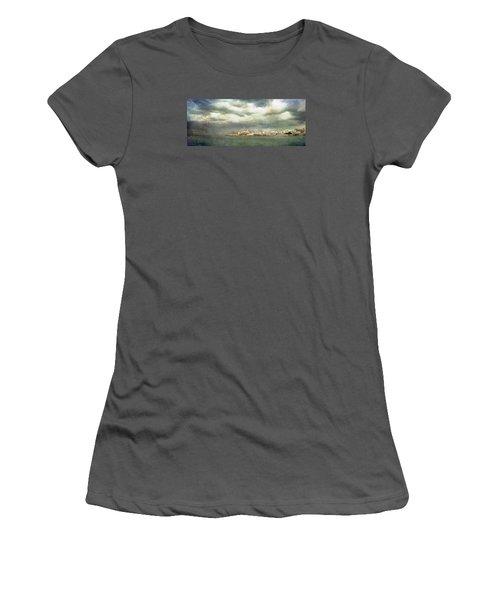 Vieste  - Gargano Women's T-Shirt (Junior Cut) by Vittorio Chiampan