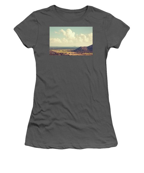 View From Mihintale Women's T-Shirt (Junior Cut) by Joseph Westrupp