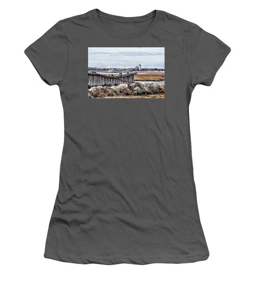 View From Mill Creek - Cold Women's T-Shirt (Junior Cut) by Constantine Gregory