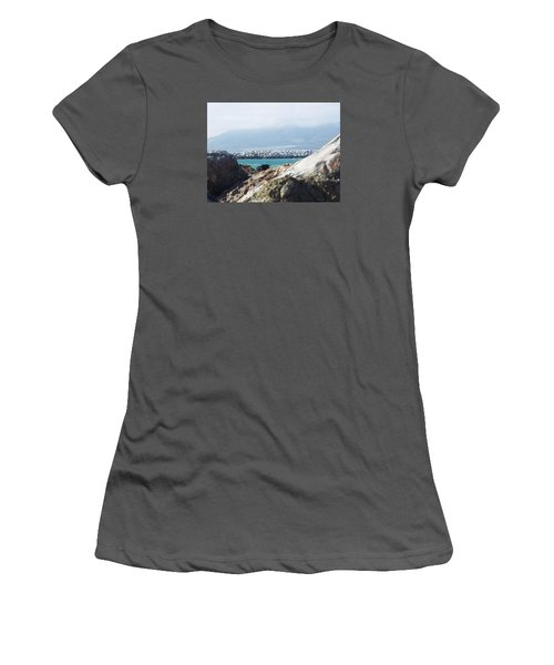 View Of The Inlet Women's T-Shirt (Athletic Fit)