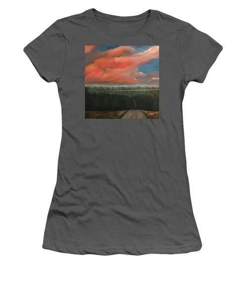 View To Yell County Women's T-Shirt (Athletic Fit)