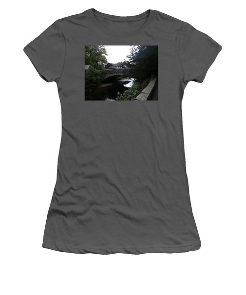 Village Bridge Women's T-Shirt (Athletic Fit)