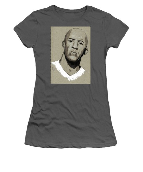 Vin Diesel Women's T-Shirt (Athletic Fit)