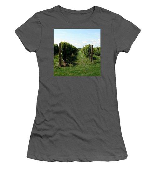 Vineyard On The Peninsula Women's T-Shirt (Athletic Fit)