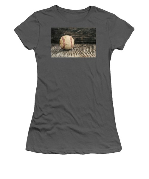 Vintage Baseball Women's T-Shirt (Athletic Fit)