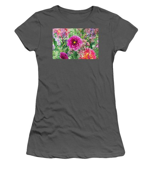 Vintage Brocade Women's T-Shirt (Athletic Fit)