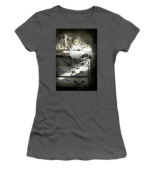Women's T-Shirt (Junior Cut) featuring the photograph Vintage Time by Diana Angstadt