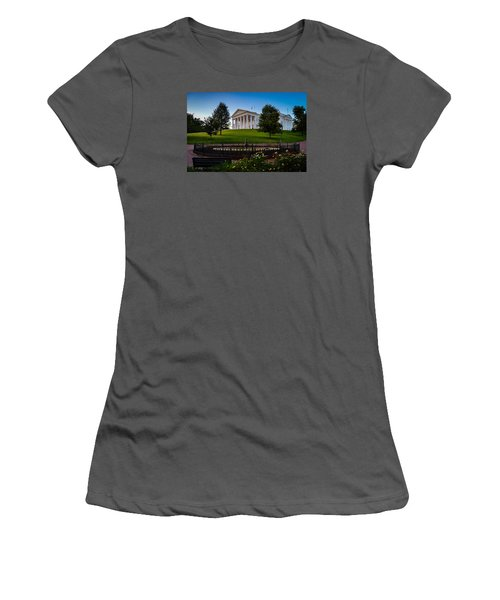 Virginia Capitol Building Women's T-Shirt (Athletic Fit)