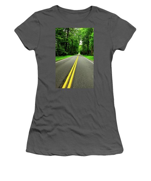 Virginia Road Women's T-Shirt (Athletic Fit)