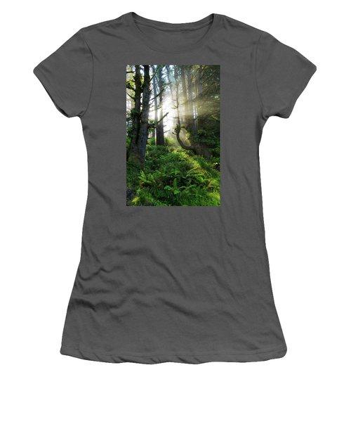 Women's T-Shirt (Junior Cut) featuring the photograph Vision by Chad Dutson