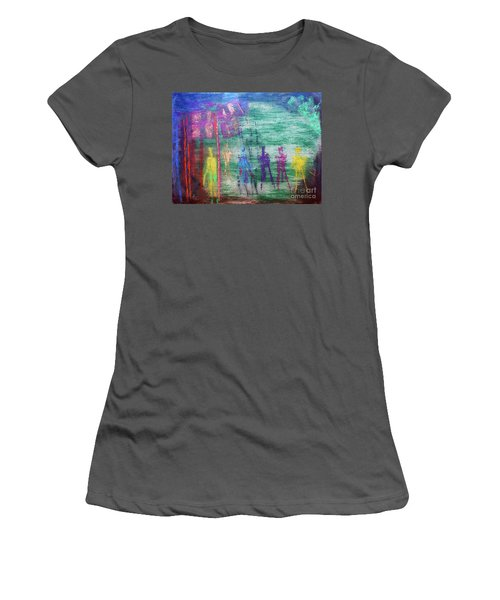 Visions Of Future Beings Women's T-Shirt (Athletic Fit)