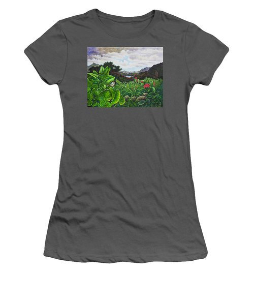 Visions Of Paradise Viii Women's T-Shirt (Athletic Fit)