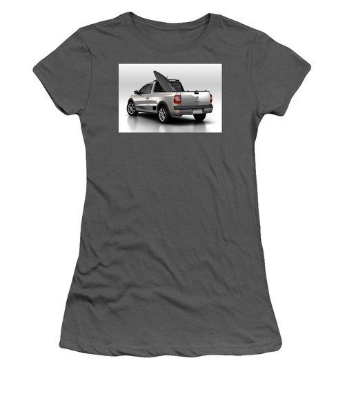 Volkswagen Saveiro Women's T-Shirt (Athletic Fit)