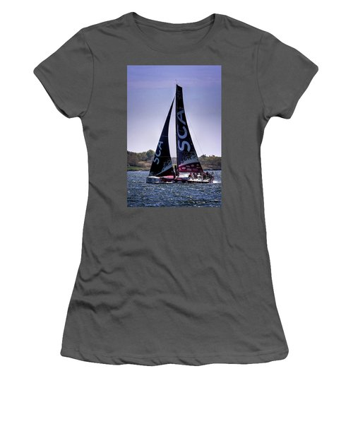 Volvo Ocean Race Team Sca Women's T-Shirt (Athletic Fit)