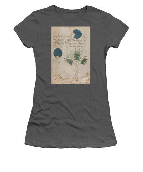 Voynich Flora 20 Women's T-Shirt (Athletic Fit)