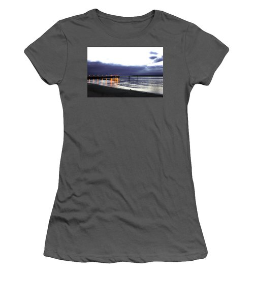 Waiting For The Kingston Ferry Women's T-Shirt (Athletic Fit)