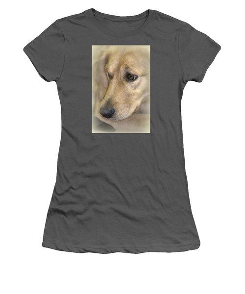 Waiting For You Women's T-Shirt (Junior Cut) by Lori Seaman